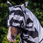 Buzz-Off Zebra Fly Mask